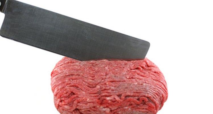 Carne moída pode ter diversos teores de gordura