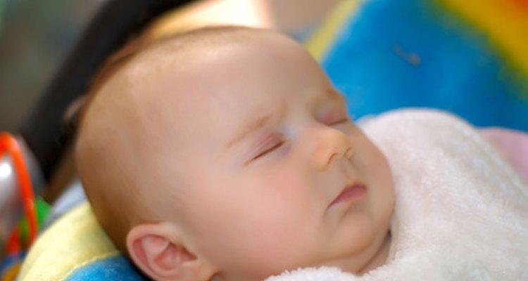 Las muecas pueden ser una señal de que el bebé está adolorido.