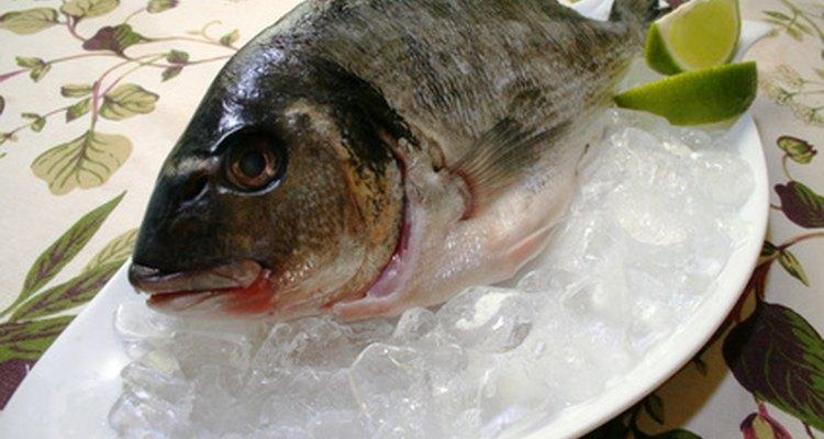 Un pescado con mal olor puede no estar fresco.