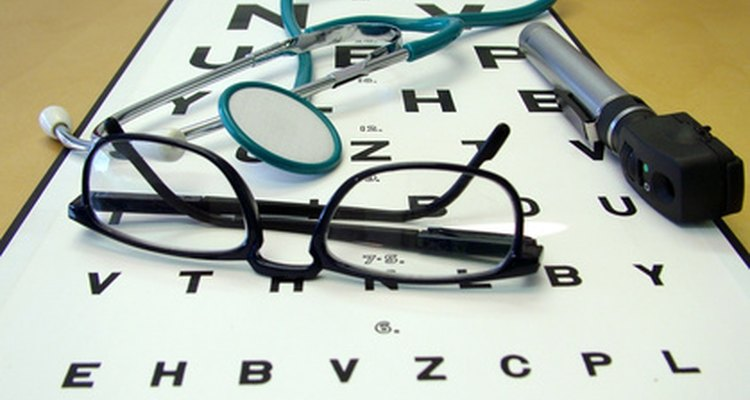 Snellen charts measure a person's visual acuity.