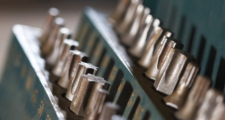 Torx screws require Torx bits and drivers for removal.