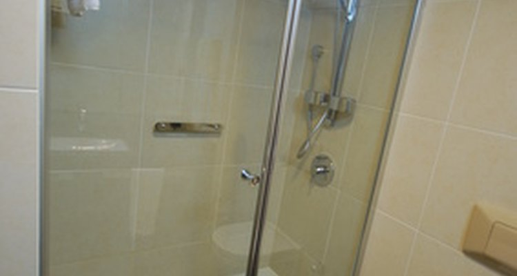 Home recipes for cleaning products can save you money when cleaning your shower.