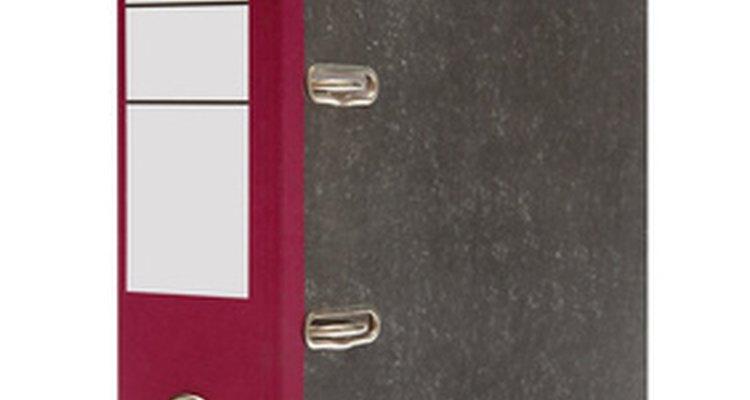 Use etiquetas adesivas para te ajudar a organizar o seu sistema de arquivos