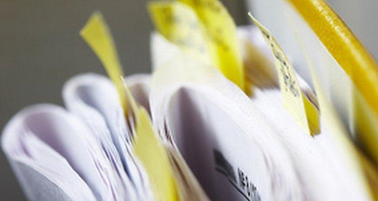 O Microsoft's XPS Document Writer serve para evitar arquivos de papel bagunçados, como o da imagem