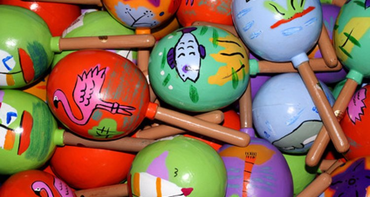 Maracas are an example of a Spanish instrument.