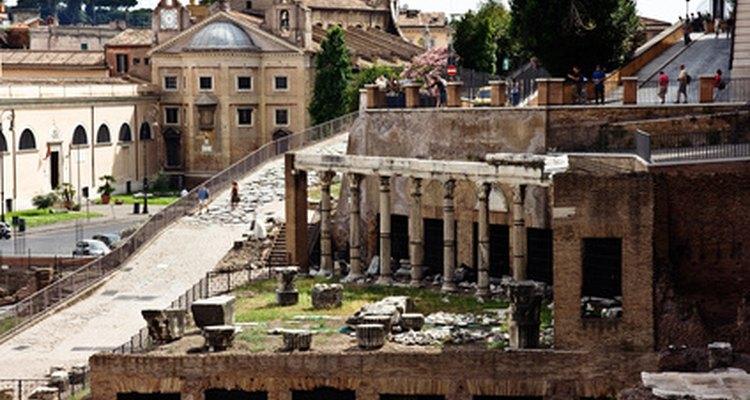 La arquitectura fue uno de los mayores logros de la antigua Roma.