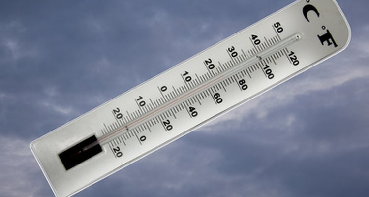 Children can create their own thermometer for math class.