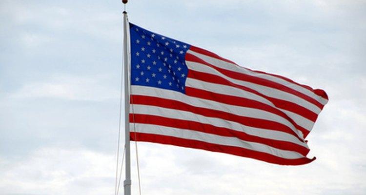 Los eventos deportivos suelen comenzar con el himno de Estados Unidos.