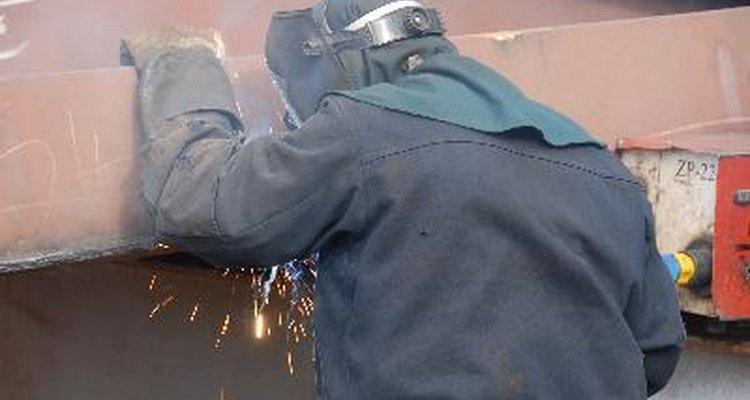 La selección de la varilla depende de las propiedades del metal que está siendo unido.