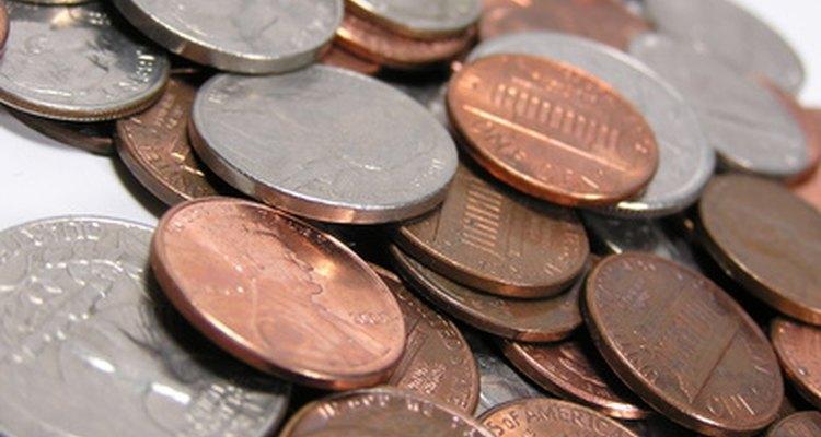 Usa monedas de Estados Unidos para pesar sin balanza.