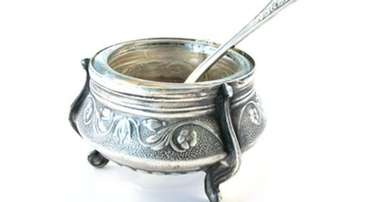Restore silver using Brasso.