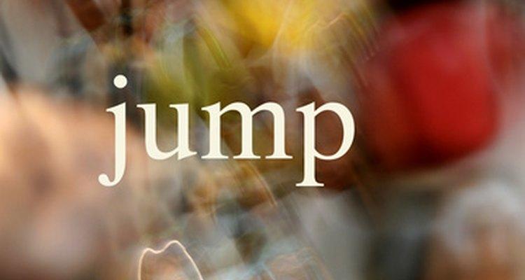 O Pulo do lobo é frequentemente usado com outros saltos em um combinação