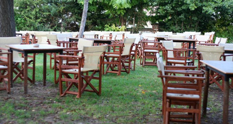 Oil your teak patio chairs so they will last longer.