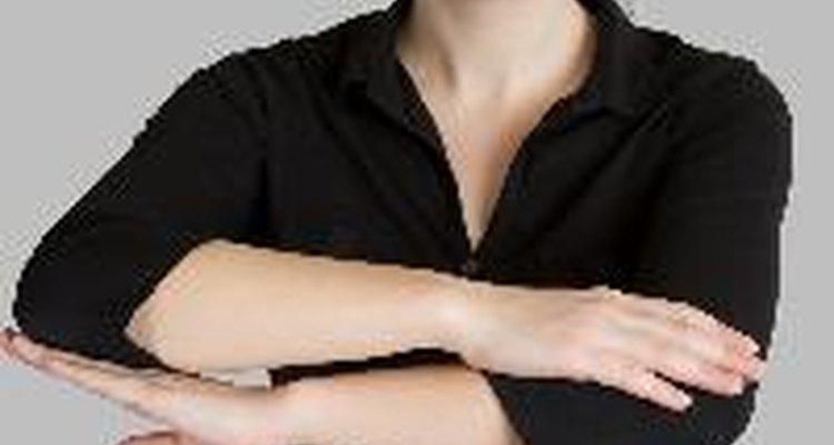 La piel de gallina puede aparecer en la piel si sientes frío.