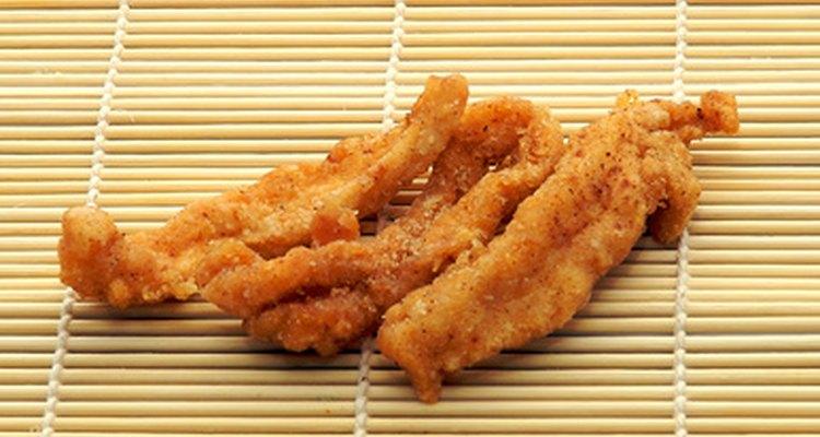 Panko lends crispness to tempura dishes.
