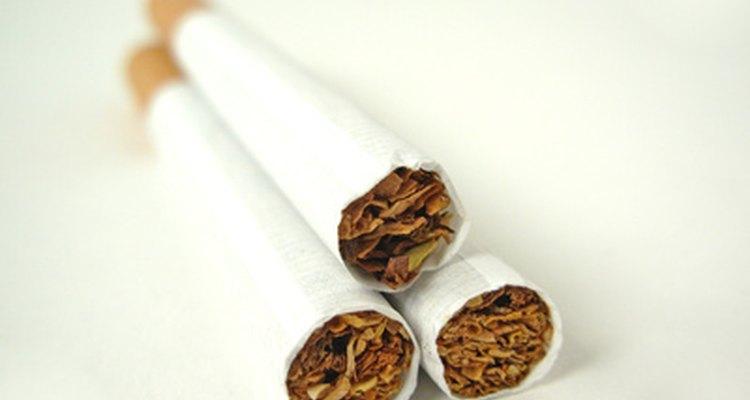 Es mejor comenzar con un cigarrillo con filtro.