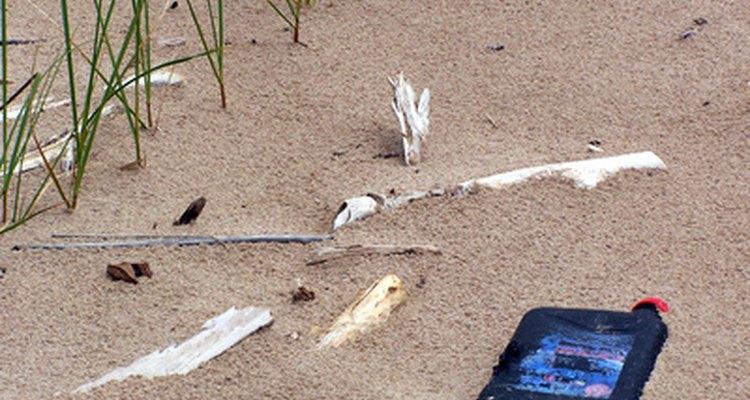 La basura no biodegradable es una preocupación constante para los ecologistas.