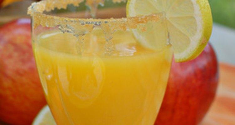 El destornillador es una sencilla mezcla de jugo y vodka.