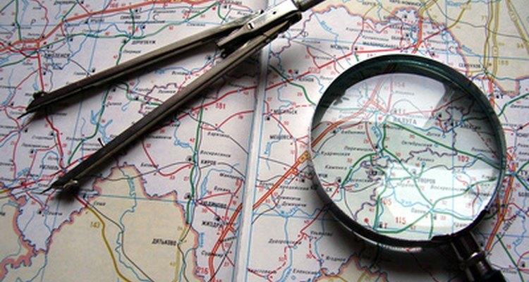 La lectura de mapas es una habilidad fundamental.