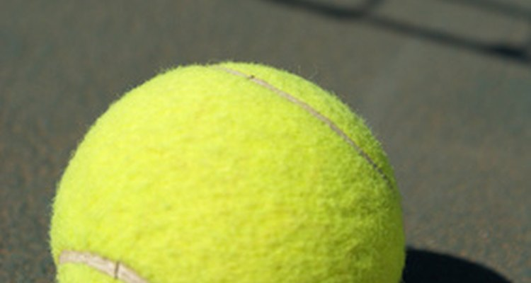 Short tennis can be played with regular tennis balls.