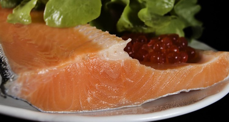 Salmon is rich in omega-3 fatty acids.