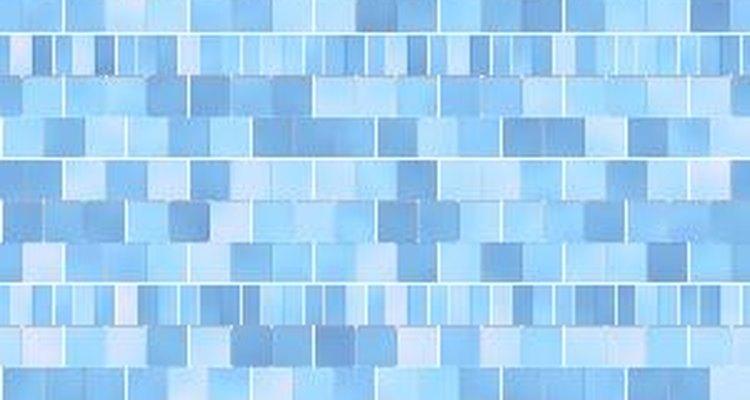 Aunque los mosaicos de azulejos son objetos 3D, debes pensar en una perspectiva de 2D para realizarlos.