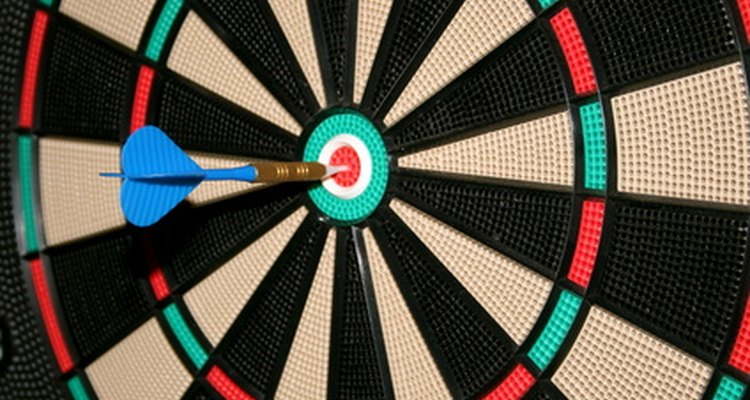 Remove broken tips out of a dartboard as soon as possible.
