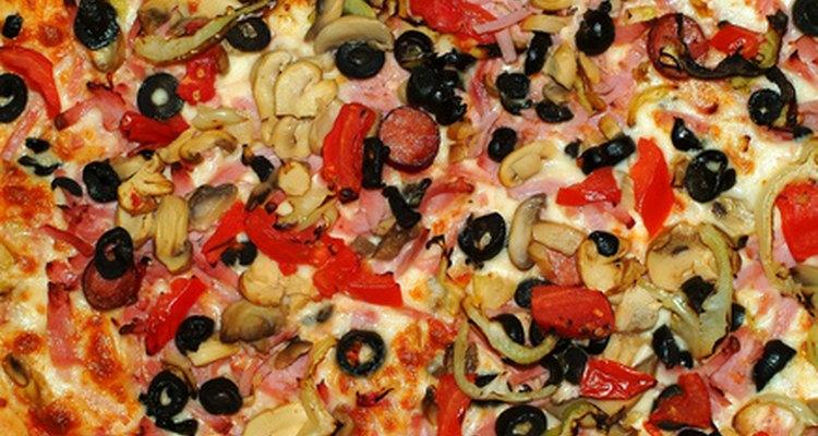 La pizza puede incluir cualquier ingrediente que puedas imaginar.