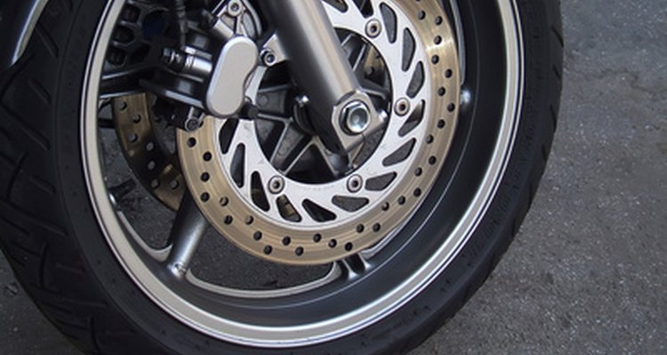 Brass bristles are the safest choice for cleaning brake rotors.