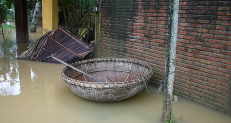 Much of Bangladesh is flood-prone.