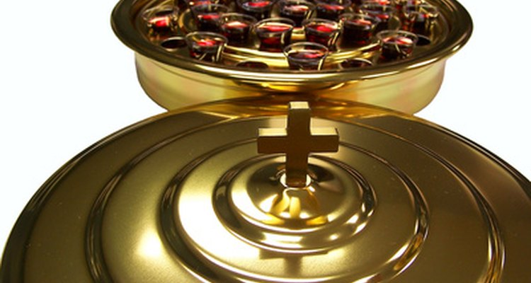 Communion cups are useful in making crafts.