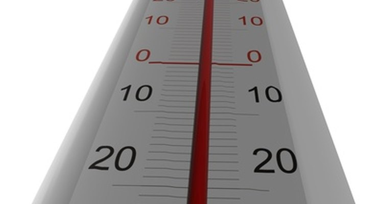 An indoor/outdoor alcohol thermometer