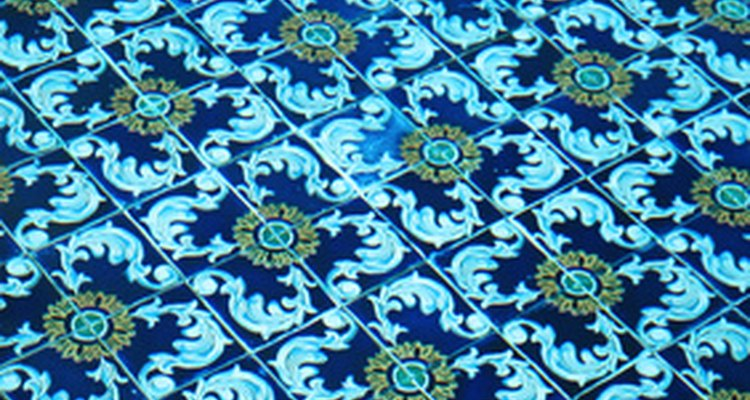 Mexican tiles blend soothing colours and festive, crest-inspired designs.