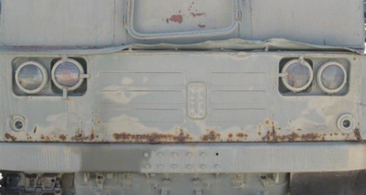 Las camionetas a menudo son blindadas para evitar robos.
