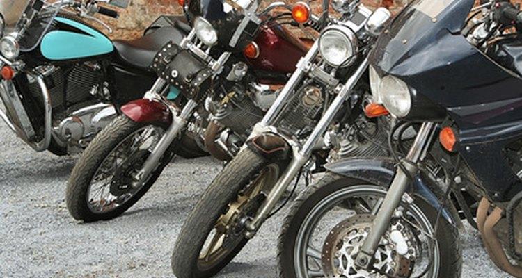 Uma destas motos não dará partida