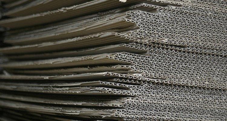 Cardboard boxes often result in cardboard dust.