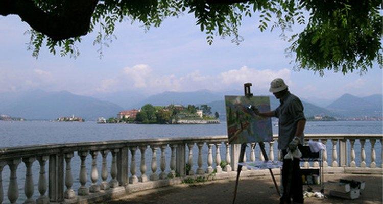 Até artistas que trabalham com meios tradicionais, como a pintura, podem criar obras-primas