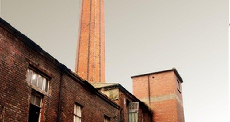 Las fábricas de algodón inglesas fueron las primeras fábricas modernas.