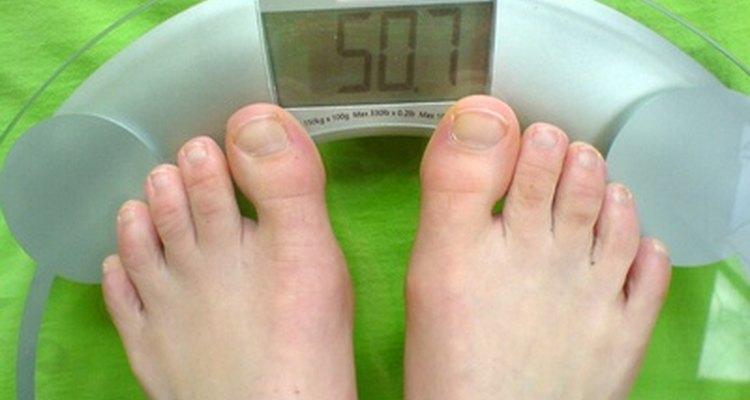 Pode-se encontrar seu próprio índice de massa corporal com base no peso e altura