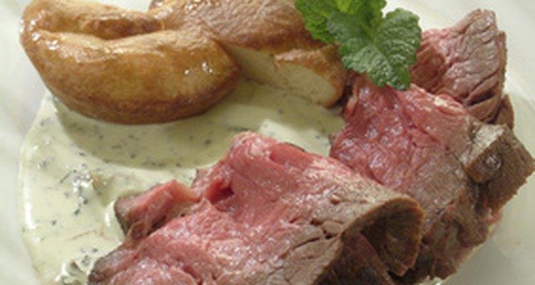El asado Inglés es un corte tradicional asado para la cena del domingo en Inglaterra.