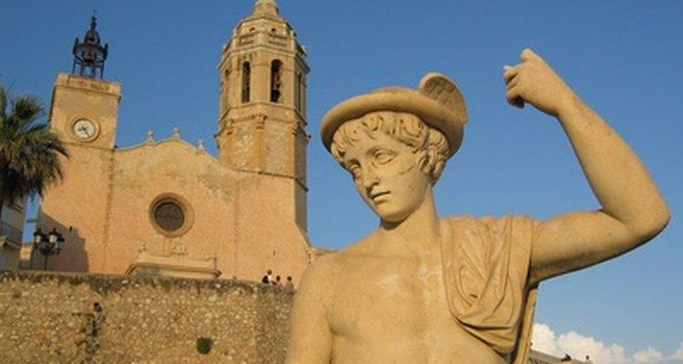 Esculturas antigas frequentemente retratavam o clássico nariz grego