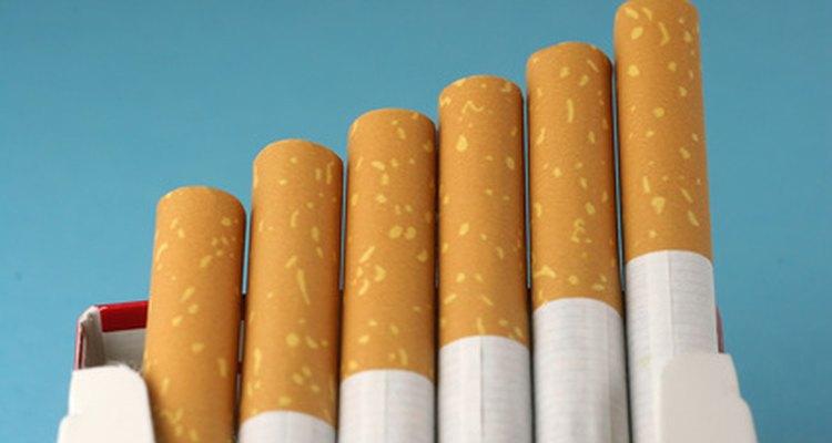 Os filtros não eliminam a nicotina, uma substância viciante