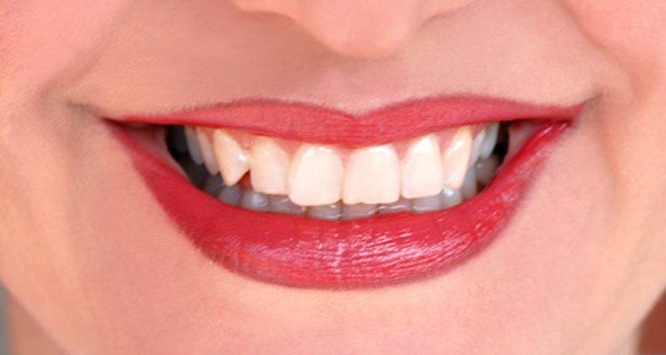Dentes já limpos
