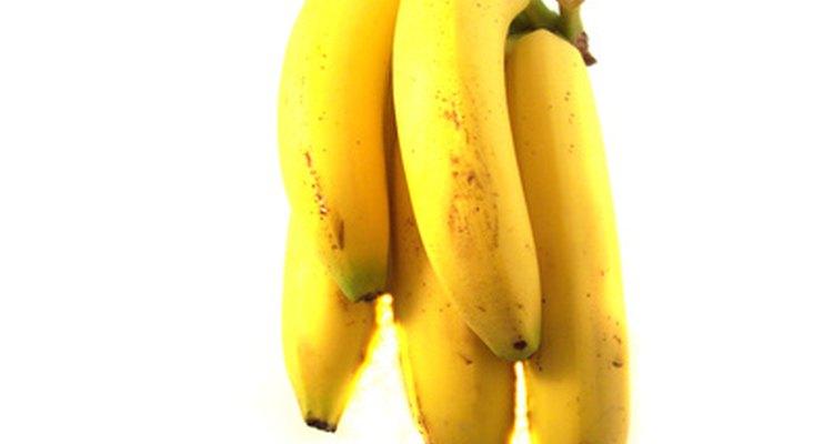 Las bananas pueden provocar diarrea o estreñimiento según la persona.