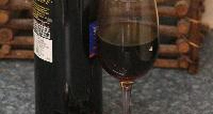 A França é muito conhecida pela produção de vinhos.