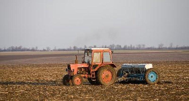 Tipos de fertilizantes inorgánicos.
