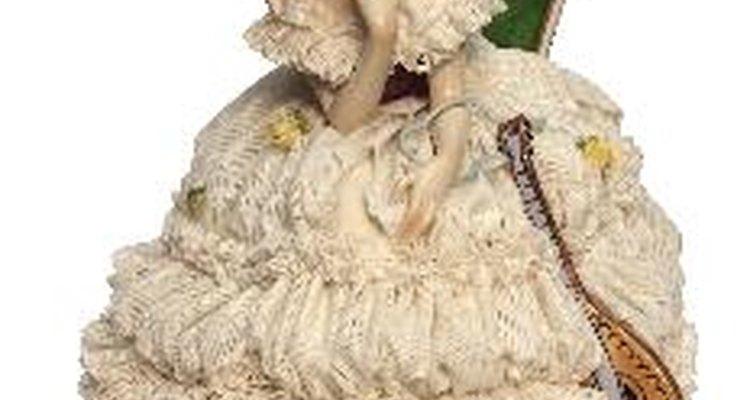 Las figuras de porcelana de Dresden antiguas son altamente coleccionables y muy solicitadas.