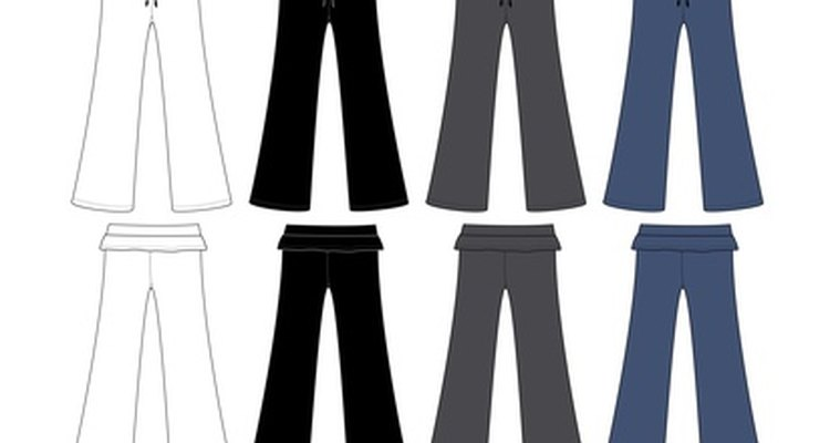 Remove creases from trousers so no one can tell they have been altered.