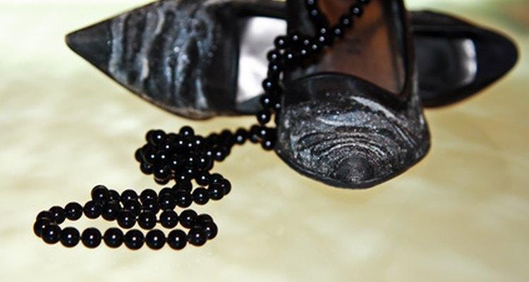 Las perlas de colores están de moda para el día.