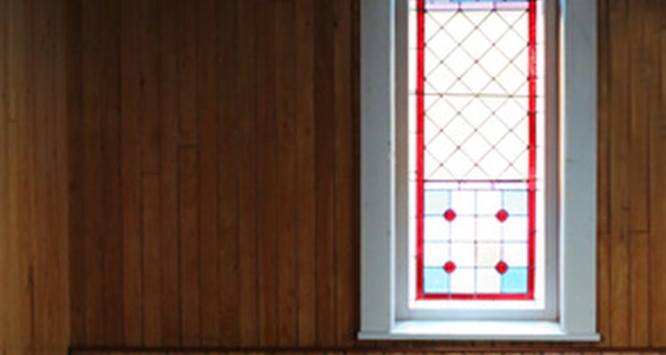 Lancet windows are common in religious architecture.